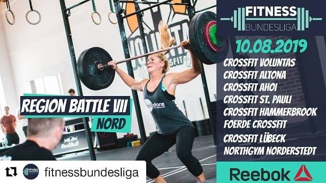 Foerde CrossFit Fitness Bundesliga Nord