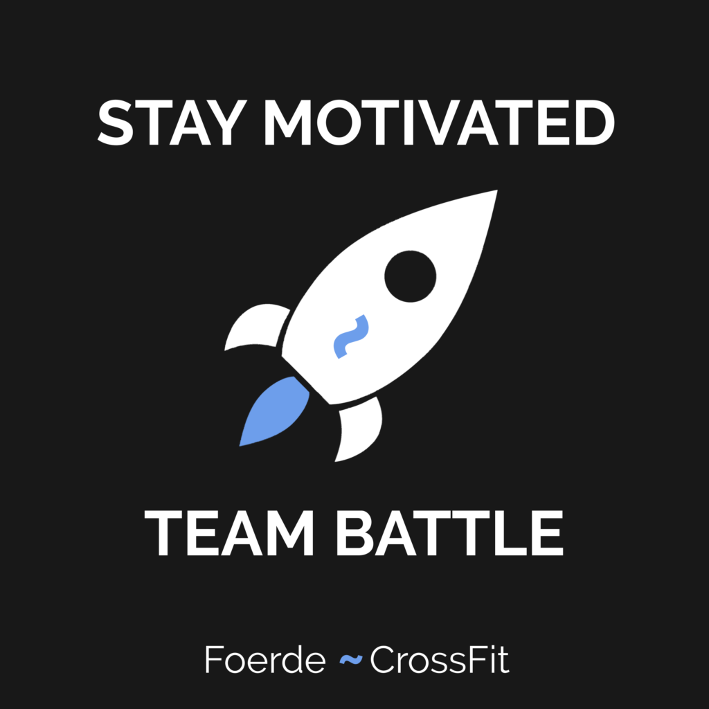 Stay Motivated Team Battle